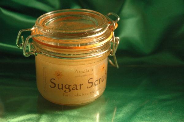 Aradiant Sugar Scrub